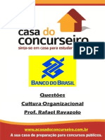 Apostila BB 2013 Cultura Organizacional