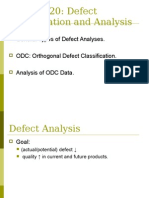 Defect Classification and Analysis