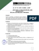 Directiva Evaluacion 115 2013