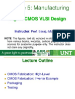 VLSI Lecture5 Manufacturing