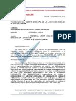 CARTA N° 01 -  OBSERACION DE BASES  - MOCHE TRUJILLO