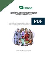 Programa de Compensacion de Servidumbre - Gasoducto Bulo Bulo