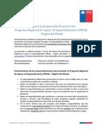 Guía de Preparación PRAE Maule 2015