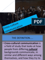 Cross Culture Communication,a gift from raman roy to JIMS STUDENT