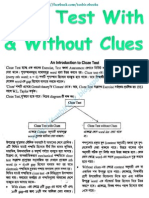 Cloze Test With & Without Clues
