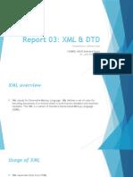 XML & DTD (XML Document Type Declaration)