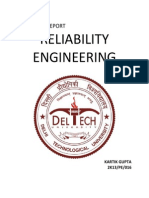 Project Reliability Engineering
