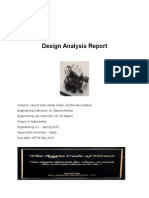 Design Analysis Report