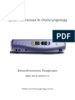 Recent Advances in Otolaryngology