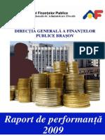 Raport de Performanta 2009