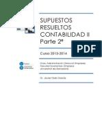 Supuestos Resueltos Conta 2. Parte 2. 2013-2014