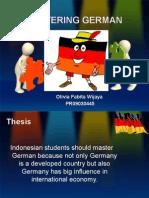 Mastering German Bibi Persentasi Lia