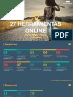 27 Herramientas Online