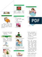 Leaflet PENYULUHAN Tifoid PKM