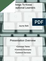 belk,jayme family presentation