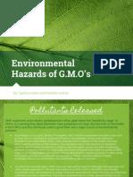 environmental hazards for gmos
