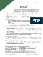 EI2352 Process Control
