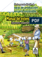 "Guía técnica para la difusión de tecnologías de producción agropecuaria sostenible"""
