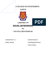 Report on Social Networking