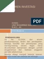 Belajar Manajemen Investasi Daerah