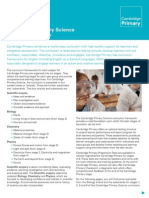 Cambridge Primary Science Curriculum Framework