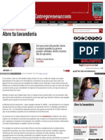 Www Soyentrepreneur Com Abre Tu Lavanderia HTML