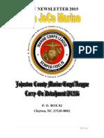 The JoCo Marine Newsletter - May 2015