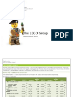 Corporate Finance Report on Lego