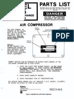 1 Parts Manual Quincy 325 Pump