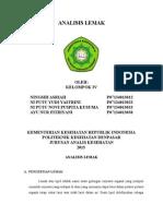 Paper Amami Lemak , Kurang Test Analisis