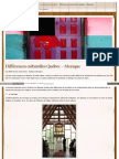 Mexicains Wordpress Com Differences Culturelles Quebec Mexiq