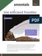 Understanding the Efficient Frontier