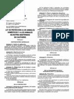 Peru Ley Protecc Animales Cautiverio 27265 Del 2000