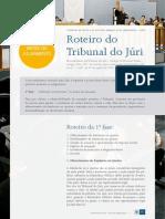Tribunaldojuri Roteiro do Tribunal do Júri - Antes do dia de Julgamento