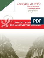 2014-15 NTU Guidebook for Exchange-Visiting Students