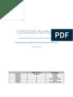 edss428 portfolio