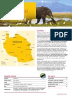 Export to Tanzania Fact Sheet