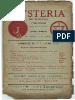 Mysteria avril 1913