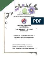 El Sistema Financiero Peruano y Las Instituciones Financieras