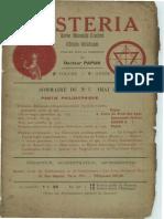 Mysteria mai 1913