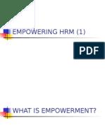 5 PSDM Empowerment