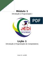 Projeto JEDI - Introdução à Programação - Java -  Módulos 01 e 02 - 431 páginas