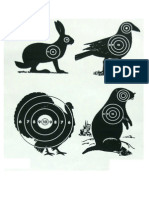 Mixed Animal Targets (Small) - A4