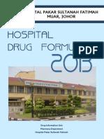 Drug Formulary 2013