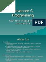 2006CON Advanced C Programming Hibner Shaul