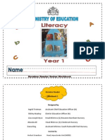 Workbook - Literacy - Year 1 (1)