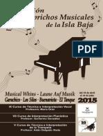 Revista Caprichos Musicales 2015