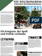 2015-05 Sechster Weltkongress der Hedonistischen Internationale