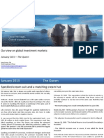 Global Market Outlook January 2013