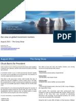 Global Market Outlook August 2011